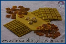 Mozaiek Kleur Pakket  Gold Line - Geel