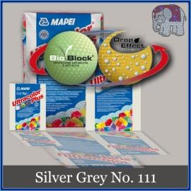 Voegmiddel - Mapei Ultracolor Plus - Binnen en buiten voegsel voor de mozaiek hobby - per 500 gram - Zilver Grijs/Silver Grey No. 111