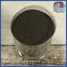 Voegmiddel - Mapei Ultracolor Plus - Binnen en buiten voegsel voor de mozaiek hobby - per 250 gram - Zwart/Black No. 120