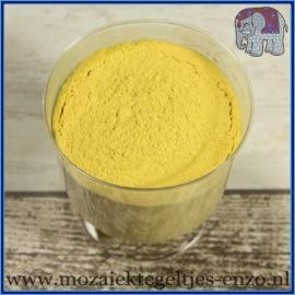 Voegmiddel - Mapei Ultracolor Plus - Binnen en buiten voegsel voor de mozaiek hobby - per 250 gram - Geel/Yellow No. 150