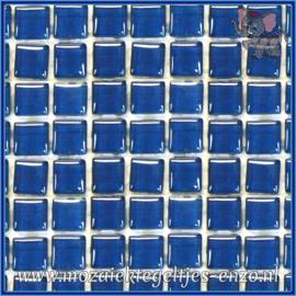Glasmozaiek tegeltjes - Murrini Crystal - 1 x 1 cm - Enkele Kleuren - per 60 steentjes - Mini Ocean Depth