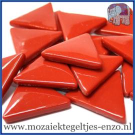 Glasmozaiek steentjes - Art Angles Gewoon - 29 mm - Enkele Kleuren - per 1 kilo - Blood Red
