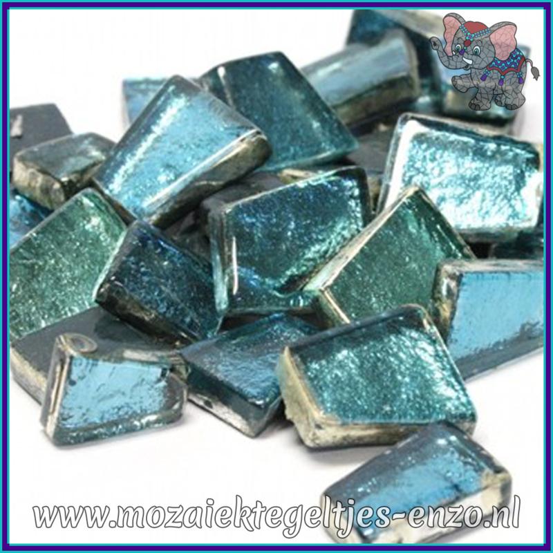 Glasmozaiek steentjes - Moonshine Measures Normaal - Gemixte Kleuren - per 50 gram - Naiad Aqua