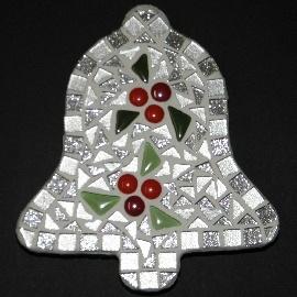 Kerst Klokje Zilver