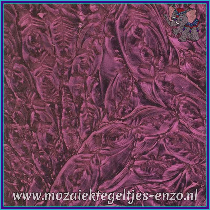 Plaatglas - Van Gogh Glass Normaal - 5 x 10 cm - Enkele Kleuren - per 1 stuk - Purple