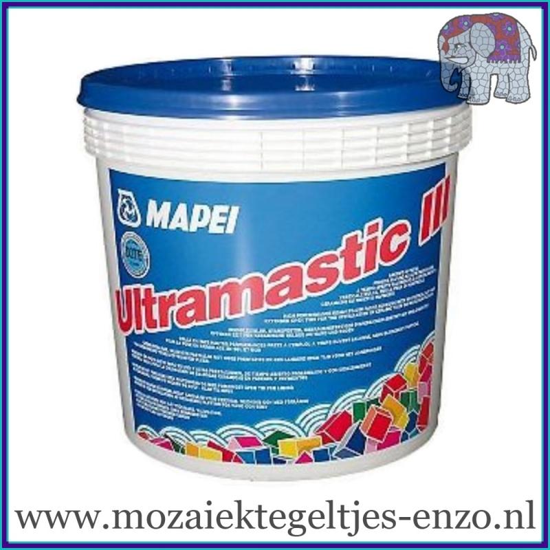 Mapei Ultramastic 3 Pasta Tegellijm - 5 kg - Binnen en buiten lijm voor de mozaiek hobby