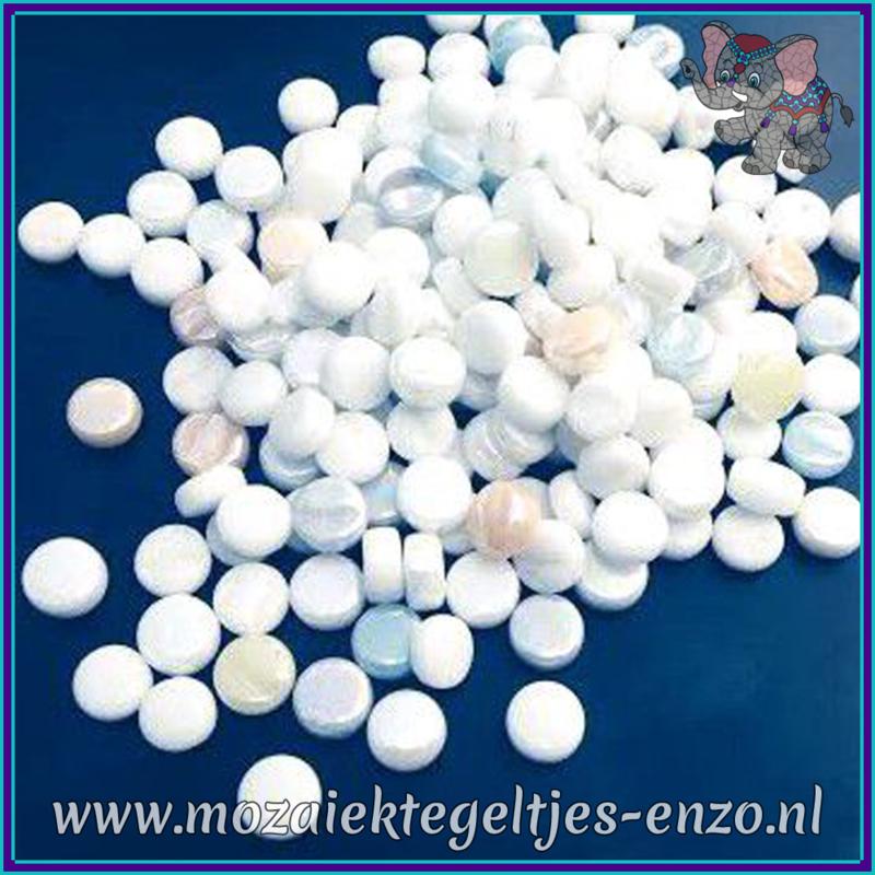 Glasmozaiek Pixel steentjes - Darling Dotz Normaal - 0,8 cm - Gemixte Kleuren - per 50 gram - Icing Sugar