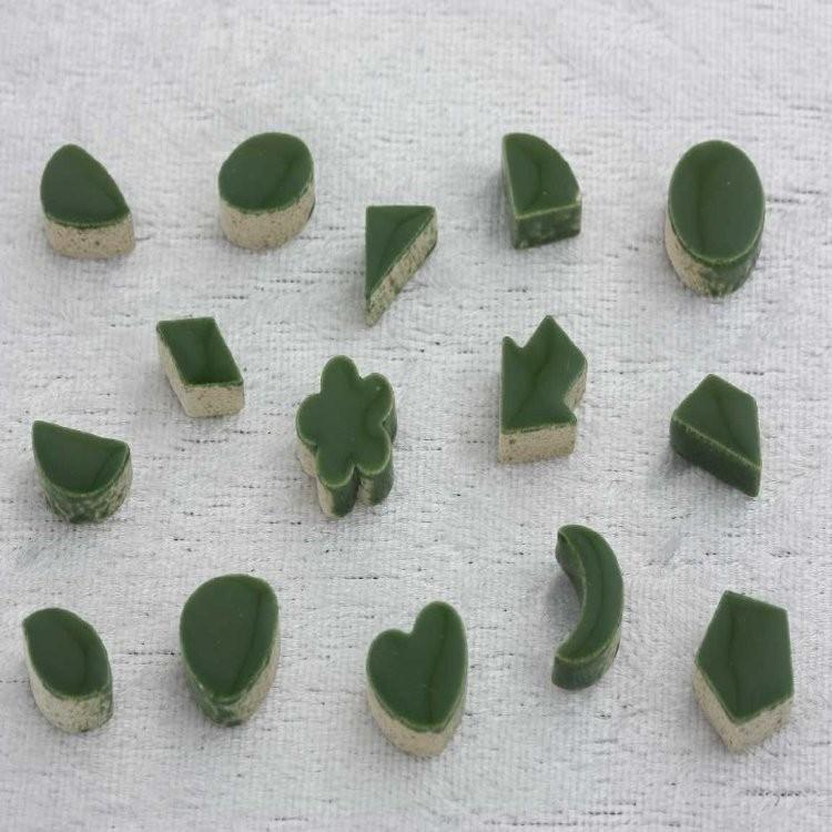 - Keramiek Vormen - Mini Pesto Green