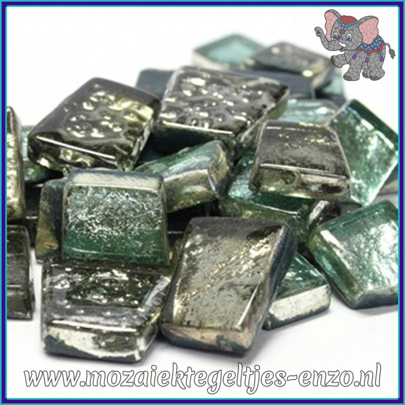 Glasmozaiek steentjes - Moonshine Measures Normaal - Gemixte Kleuren - per 50 gram - Titania Frost