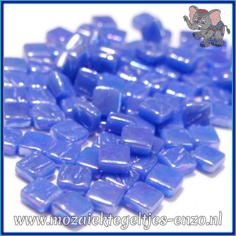Glasmozaiek Pixel steentjes - Ottoman Parelmoer - 0,8 x 0,8 cm - Enkele Kleuren - per 50 gram - True Blue