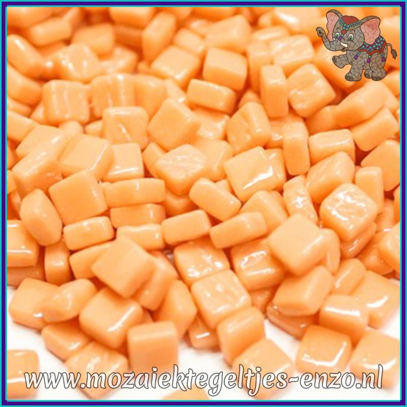 Glasmozaiek Pixel steentjes - Ottoman Normaal - 0,8 x 0,8 cm - Enkele Kleuren - per 50 gram - Apricot