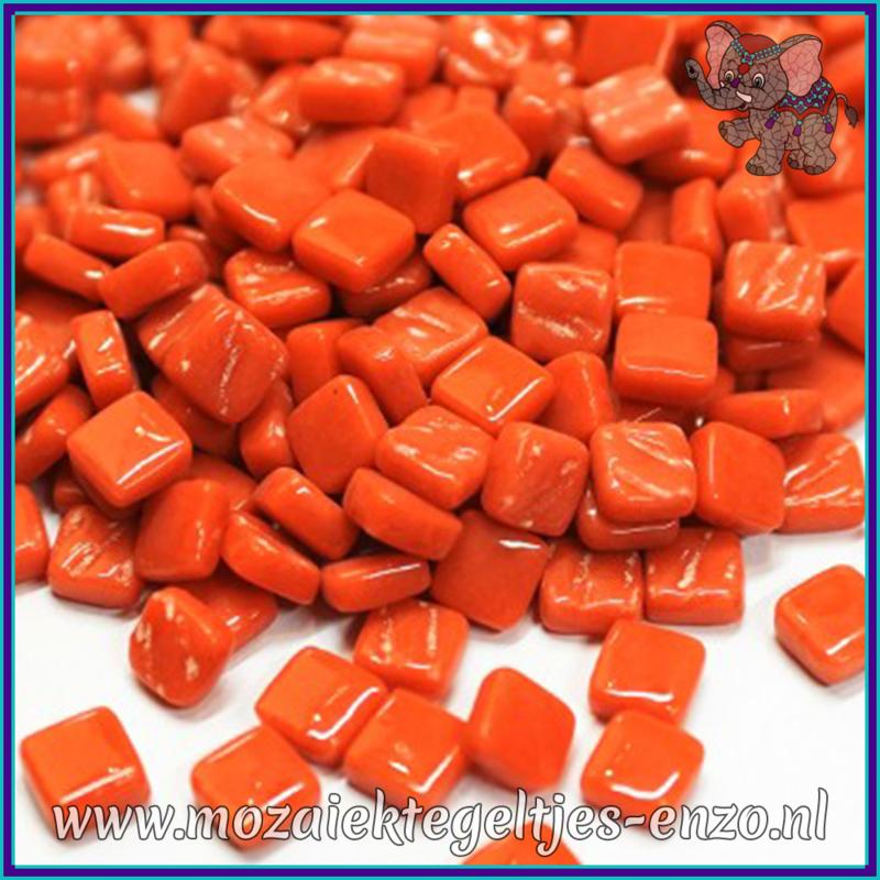 Glasmozaiek Pixel steentjes - Ottoman Normaal - 0,8 x 0,8 cm - Enkele Kleuren - per 50 gram - Chili Pepper