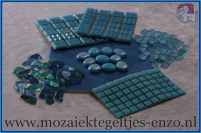 Mozaiek Kleur Pakket  Basic Line - Blauw
