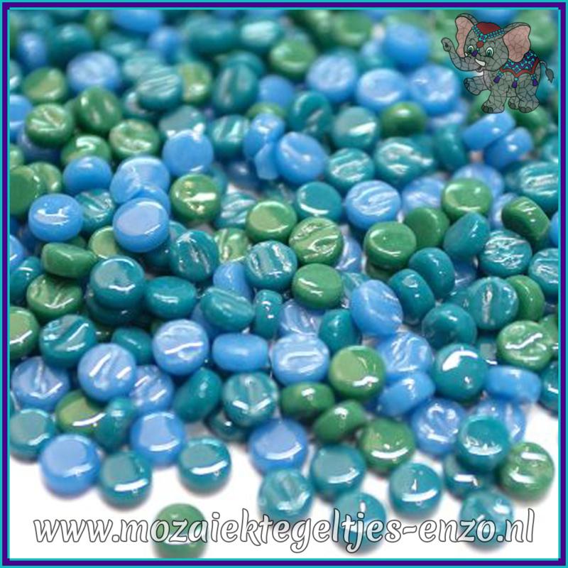Glasmozaiek Pixel steentjes - Darling Dotz Normaal - 0,8 cm - Gemixte Kleuren - per 50 gram - Acqua Vitae