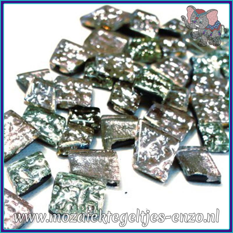 Glasmozaiek steentjes - Moonshine Measures Normaal - Gemixte Kleuren - per 50 gram - Artemis Silver