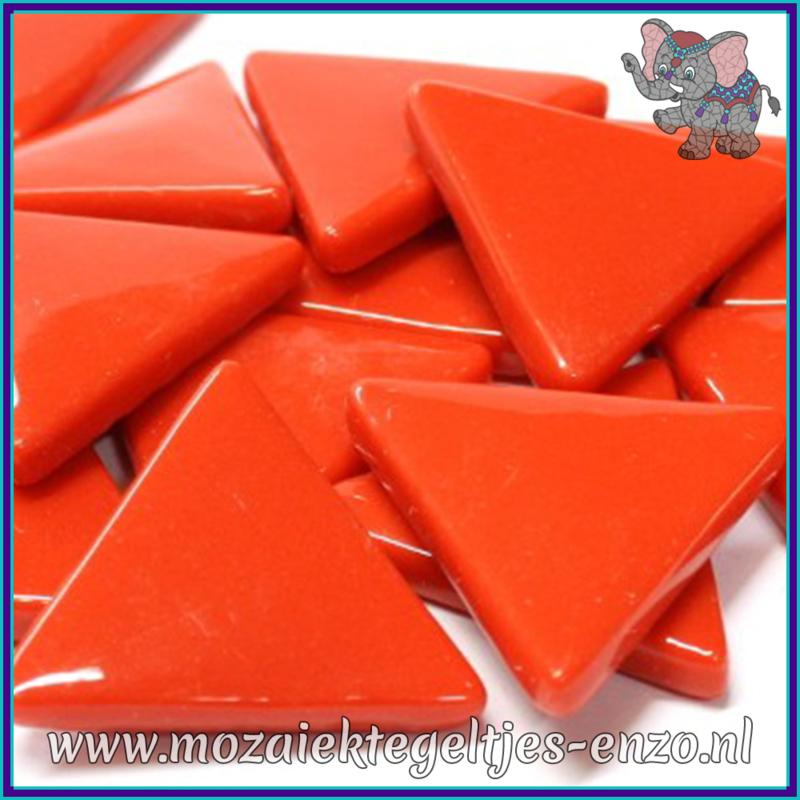 Glasmozaiek steentjes - Art Angles Normaal - 29 mm - Enkele Kleuren - per 1 stuk - Bright Red