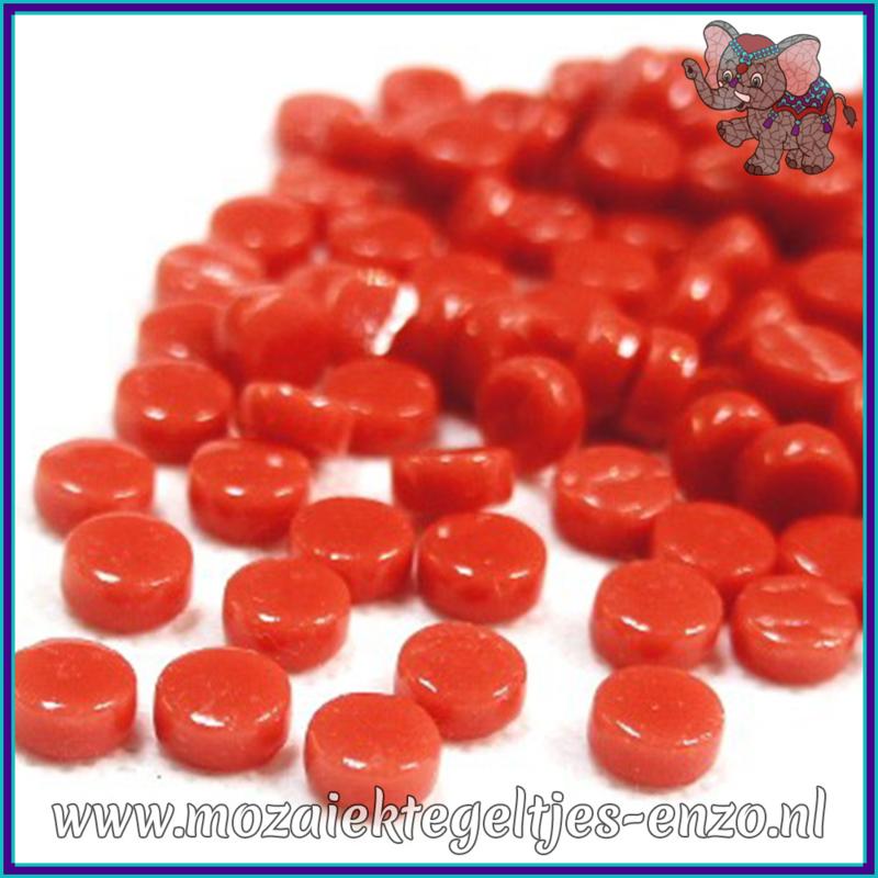 Glasmozaiek Pixel steentjes - Darling Dotz Normaal - 0,8 cm - Enkele Kleuren - per 50 gram - Watermelon