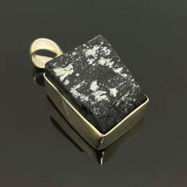 Toermalijn kristal hanger, 925 zilver