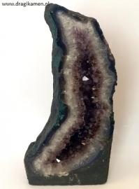 Amethyst/super 7/Cacoxeniet geode uit Brazilië van 5500 gram. Top kwaliteit.