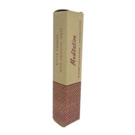 Meditation / Meditatie, wierook zonder bamboe, 50 st. met houder