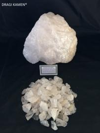 Azeztuliet ruwe kristallen, 100 gram.