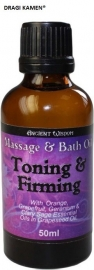 Toning & Firming Massage Oil 50 ml