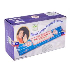 Nag Champa voordeel box, 12 doosjes á 15 gram