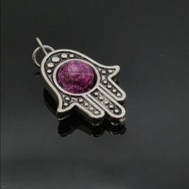 Beschermende Hamsa/Fatima's hand hanger 'Spirit'