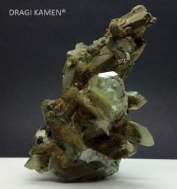 Himalaya kwarts cluster met chloriet, 202 gram. Uniek exemplaar.*