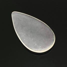 Bergkristal Druppel vorm Cabochon