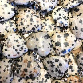 Dalmatier Jaspis hart hanger