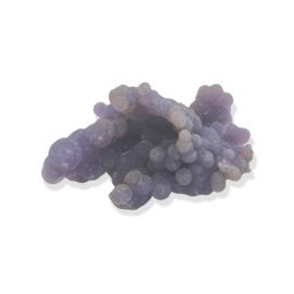 Manakara stone, Druifagaat, Paarse Chalcedoon, ruw