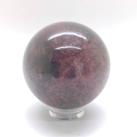 Granaat Almandien bol Ø 59 mm, 422 gram
