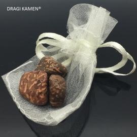 Sterren jaspis/Script stone meditatie/knuffelsteentjes in buideltje