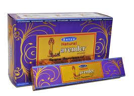 Satya Natural Lavender wierook, 15 gram