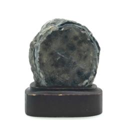 Agaat Geode op houder