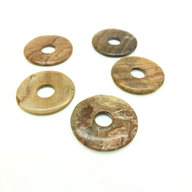 Versteend hout donut ø 35 mm