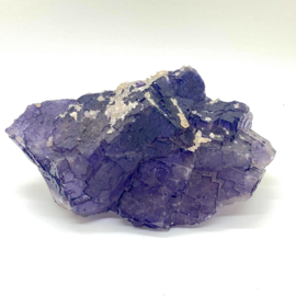 Fluoriet paars kristal, 550 gram