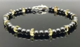 Dragi Kamen® design armband 'Aarding en Voorspoed'