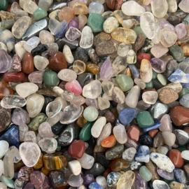 Stenenmix klein, 5-10 mm, 100 gram