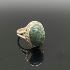 Serafiniet ring, 16 mm/51, 925 zilver