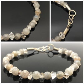"Dragi Kamen® design armband ""Doelgerichtheid en Bescherming"""
