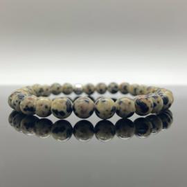 Sneeuwvlok Obsidiaan armband