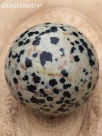 Dalmatiër Jaspis bol 30 mm.