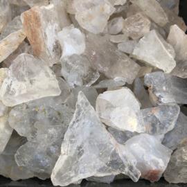 Azeztuliet of Azeztulite ruw kristal