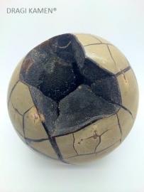 Wilde Septarie geode bol, 4746 gram.