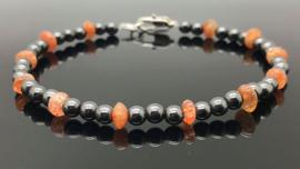 Dragi Kamen® design armband 'Aarding en Levensvreugde'