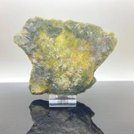 Jade, Serpentijn schijf, 212 gram