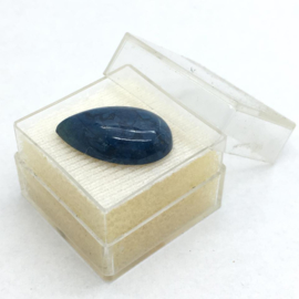 Royal Blue Sodaliet uit Portugal cabochon