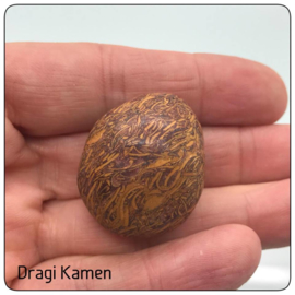 Script Stone hand-, meditatie steen XL